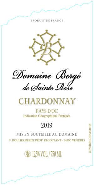 Chardonnay pays oc
